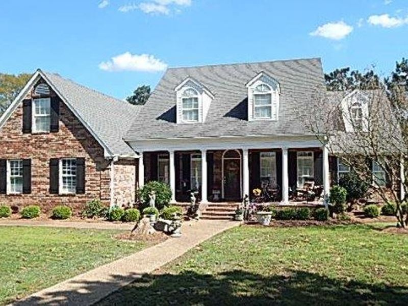 72 Acres, Custom Home In Madison : Flora : Madison County : Mississippi
