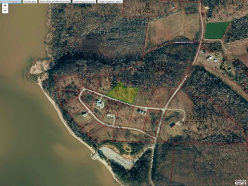 1.63 Acres Near Ky Lake : Big Sandy : Benton County : Tennessee