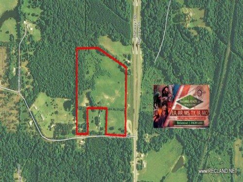 30.5 Ac Pasture Land With Excellent : Pollock : Grant Parish : Louisiana