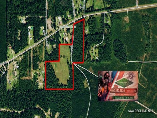 25.1 Ac - Small Ranch With Home Sit : Silsbee : Tyler County : Texas