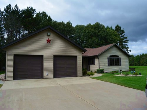 Hunting Land And 3br Ranch Home Oxf : Oxford : Marquette County : Wisconsin