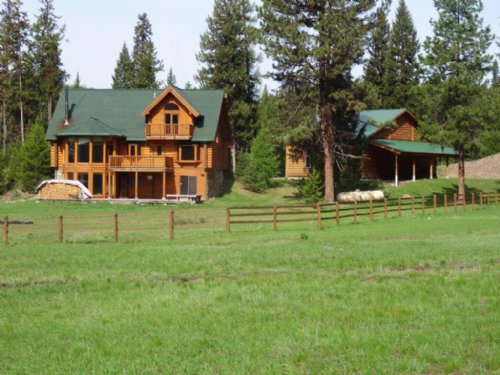 Wilderness View Ranch : Seeley Lake : Missoula County : Montana