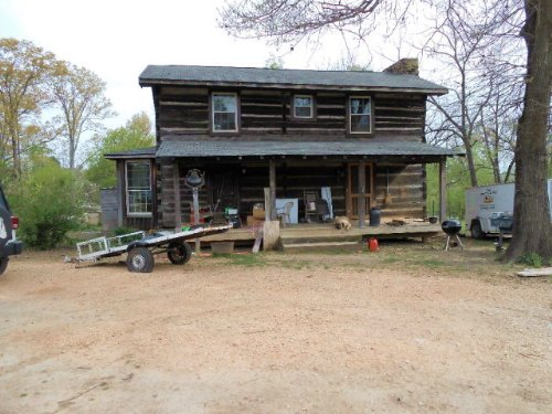 Log Home On 28 Acres : Gibson : Tennessee