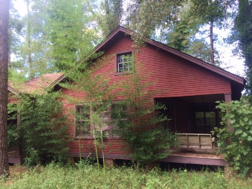 1930s Historic Cabin On 2± Acres : Pinola : Simpson County : Mississippi