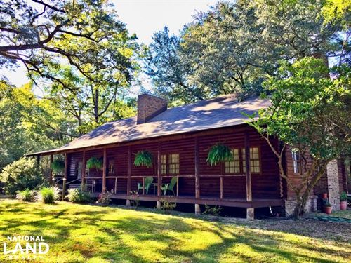 The Log House Of Stockton : Stockton : Baldwin County : Alabama