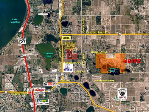Dundee Lakefront 190 Acres : Dundee : Polk County : Florida
