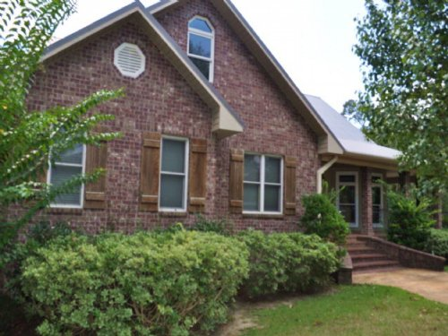Custom Brick Home Near College Summ : Summit : Pike County : Mississippi