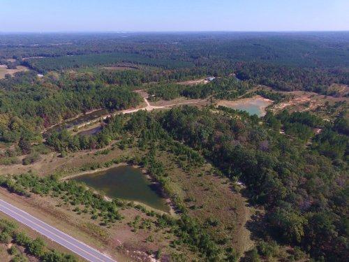 200+/- Ac - 6 Ponds Creek & Fields : Randolph : Chilton County : Alabama