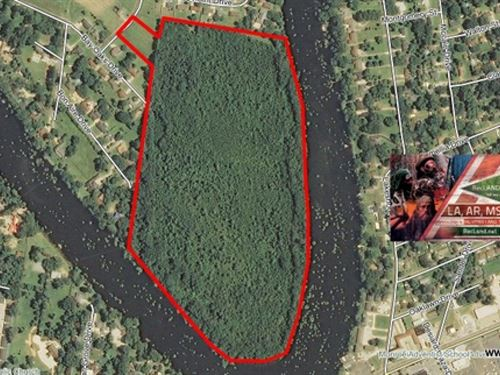 61 Ac - Wooded Development Tract Al : Monroe : Ouachita Parish : Louisiana