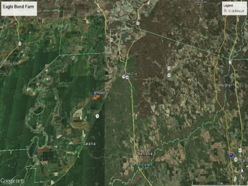 Eagle Bend Farm : Yazoo City : Yazoo County : Mississippi