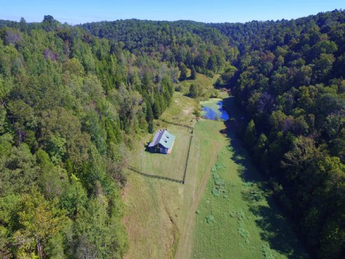 194 Acre Private Valley W/ Pond : Kingston Springs : Cheatham County : Tennessee