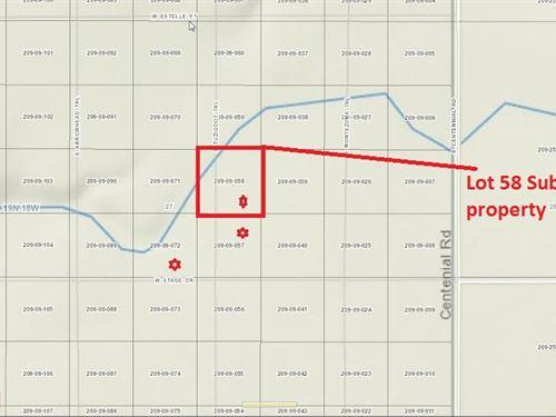 2.5 Acres In Golden Valley, AZ : Golden Valley : Mohave County : Arizona
