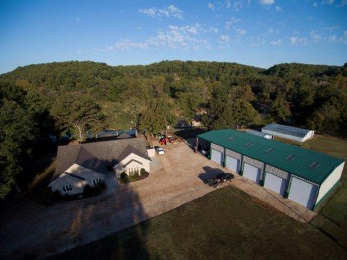 1,040 +/- Acre Buck Hollow Ranch : Tahlequah : Cherokee County : Oklahoma