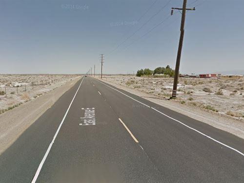 4.79 Acres In Lancaster, Ca : Lancaster : Los Angeles County : California
