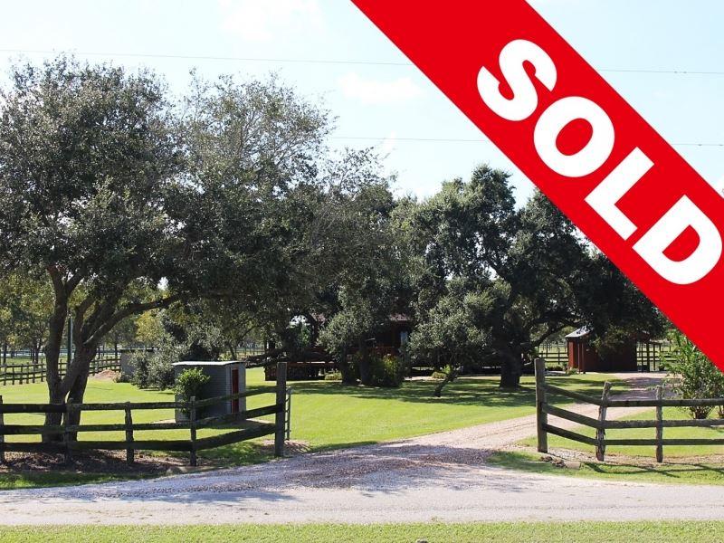 Pecan Orchard Ranch : Midfield : Matagorda County : Texas