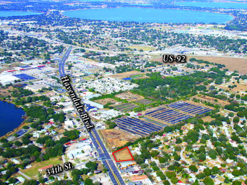 1.00± Acre Vacant Commercial Lot : Winter Haven : Polk County : Florida