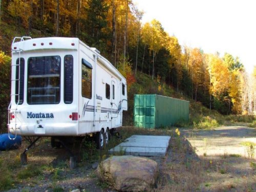 21 Acres Camper & Storage Container : Broome : Schoharie County : New York