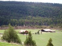 Clearwater River Ranch : Seeley Lake : Missoula County : Montana