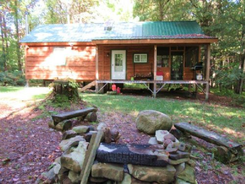 Hunting Cabin Near State Land : Annsville : Oneida County : New York
