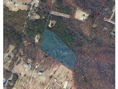 10.7 Acre Wooded Lot : Maidens : Hanover County : Virginia
