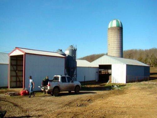 Cadillac Dairy Farm On 428 Ac : Falcon : Laclede County : Missouri