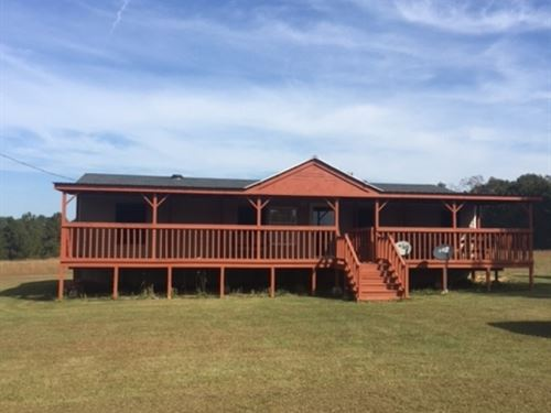 9.75 Acres And Home On Highway 98 W : Tylertown : Walthall County : Mississippi