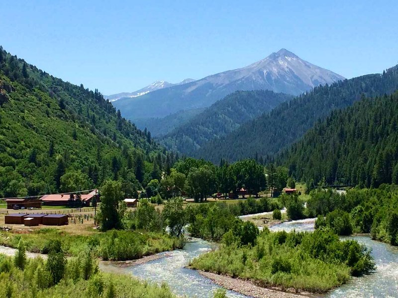 Crystal Meadows Resort : Somerset : Gunnison County : Colorado