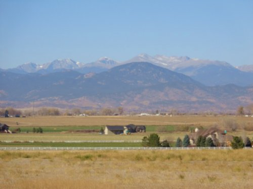 Loveland Mountain View Acreage And : Loveland : Larimer County : Colorado