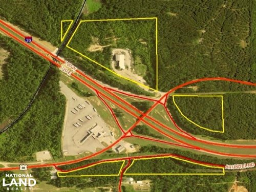 I-20 Prime Commercial Sites : Meridian : Lauderdale County : Mississippi