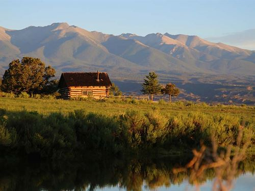 Kaess Ranch : Salida : Chaffee County : Colorado