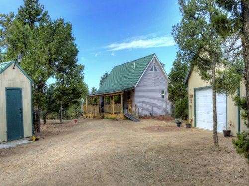 The Quade Cabin : Cotopaxi : Fremont County : Colorado