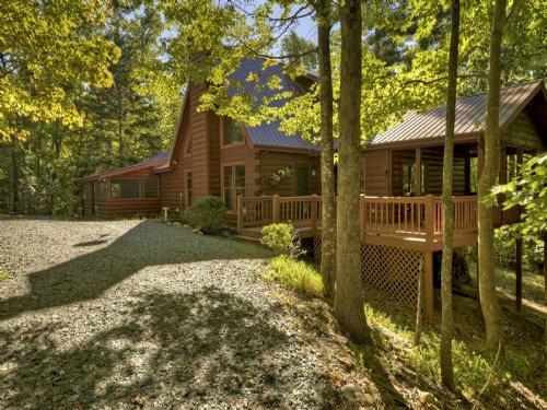 Mountain Log Home : Blue Ridge : Fannin County : Georgia