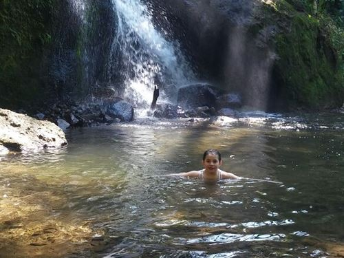 Waterfalls Rushing Mt Rio 1 3/4 Ac. : Cachi Orosi Valley : Costa Rica