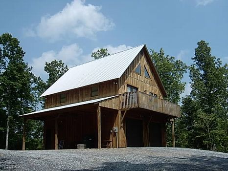 Mountain Cabin on 32 Scenic Acres : Millerville : Clay County : Alabama