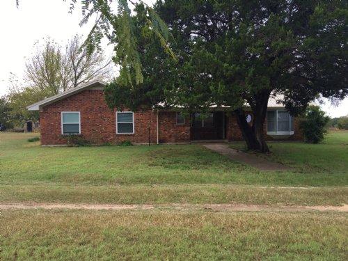 60+ Acres With Brick Home : Hico : Erath County : Texas
