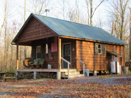 Cabin Bordering State Forest Diana : Diana : Lewis County : New York