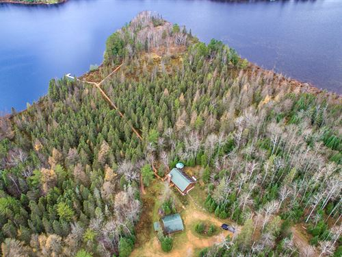 The Ultimate Northwoods Cabin : Presque Isle : Vilas County : Wisconsin