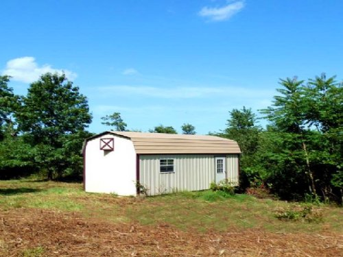 9 Acres With Unfinished Cabin : Ava : Douglas County : Missouri