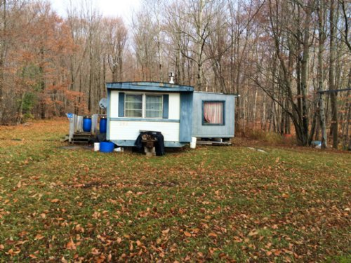 5 Acres Furnished Camp West Almond : West Almond : Allegany County : New York