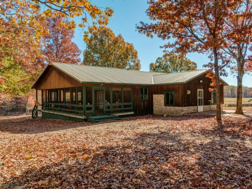 62 Acre Rustic Cabin : Hohenwald : Lewis County : Tennessee