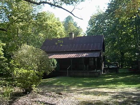Wooded 60 Acres and Cabin : Ashland : Clay County : Alabama