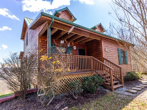 Cabin In Mountains With Lake View : New Tazewell : Claiborne County : Tennessee
