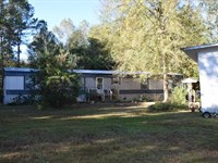 Mobile Home And 4 Acres : Magnolia : Pike County : Mississippi