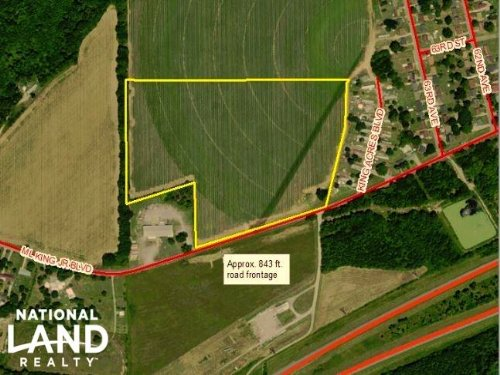 34 Acre Prime Commercial/Industrial : Tuscaloosa County : Alabama