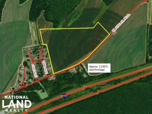 43 Acre Commercial/Industrial Oppor : Tuscaloosa County : Alabama