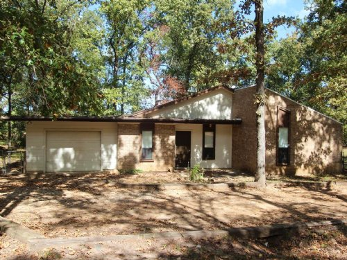 Secluded Home On Small Acreage : Powderly : Lamar County : Texas