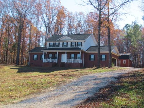 Brick House On 3.6 Acre Water View : Cedar Grove : Carroll County : Tennessee