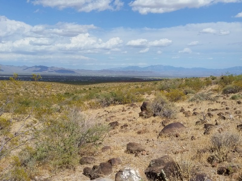 Hilltop With Amazing Desert Views : Golden Valley : Mohave County : Arizona