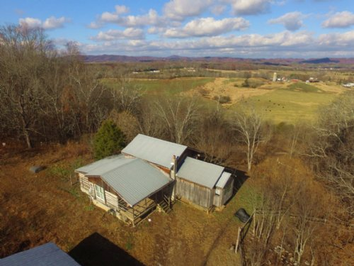 Rustic Cabin On 46.5 Acres : Greeneville : Greene County : Tennessee