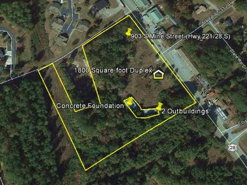 McCormick Commercial Property : McCormick : South Carolina